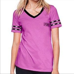 Pink VS v-neck top